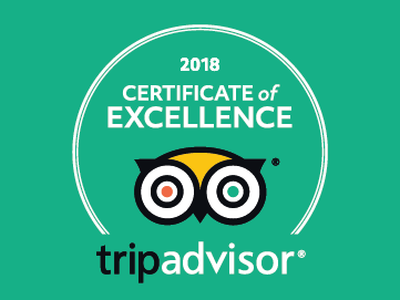 I Sofà Bar Restaurant & Roof Terrace - Certificate of excellence 2018
