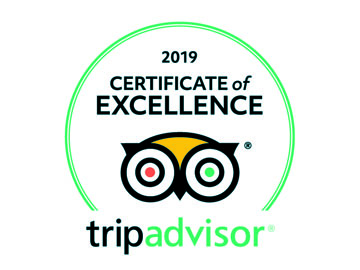 I Sofà Bar Restaurant & Roof Terrace - Certificate of excellence 2019