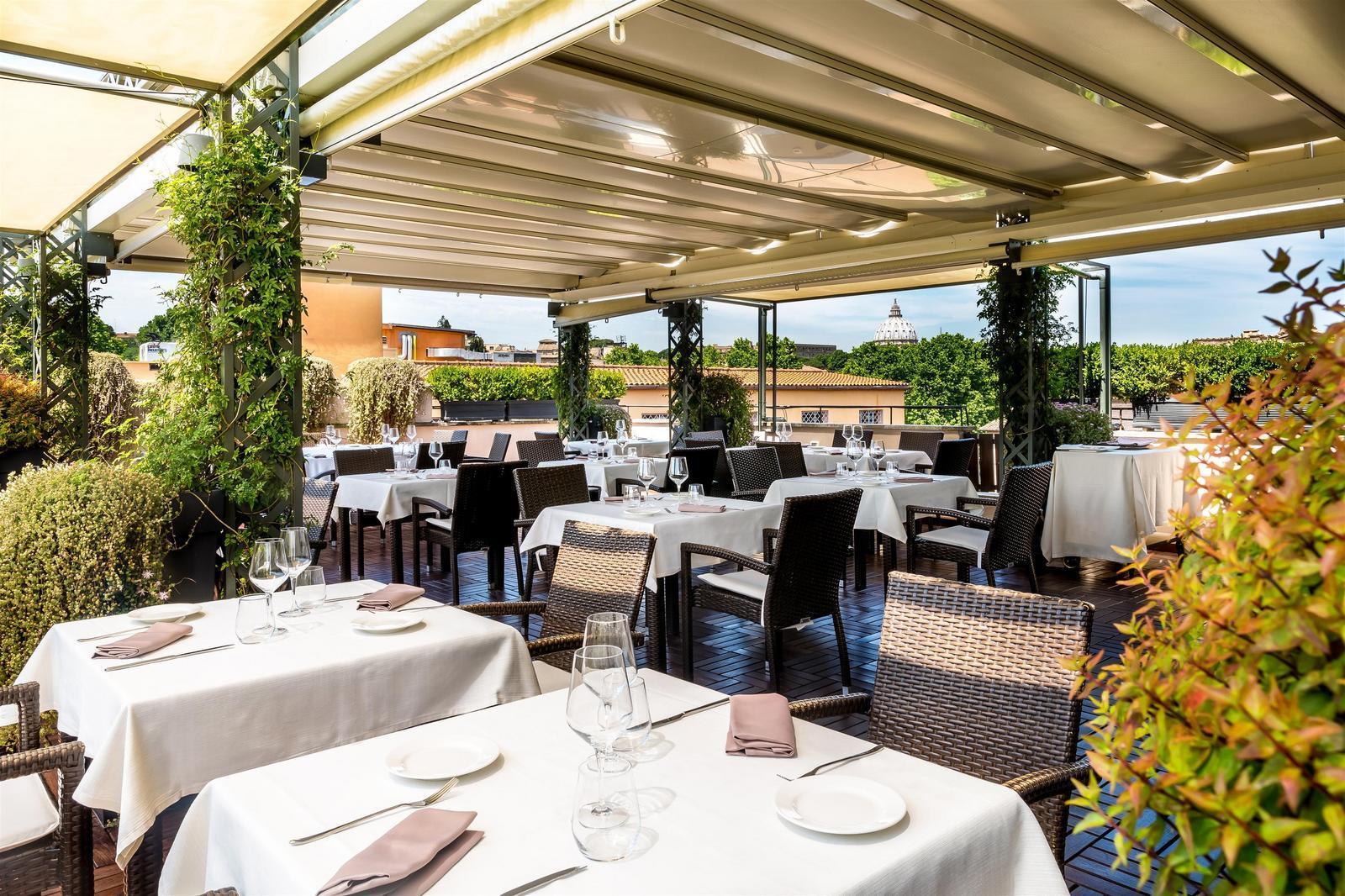 Roof terrace for Terrace restaurant menu